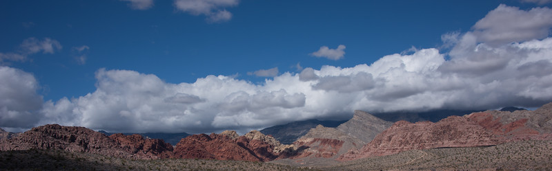 Panorama of Red Rock Canyon