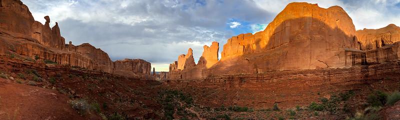 Park Avenue Panorama, Moab
