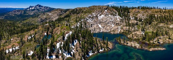Dear Lake at Serra Buttes, CA