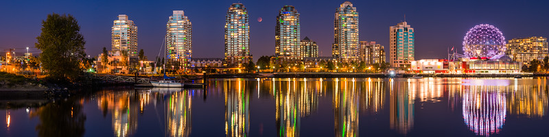 False Creek Blood Moon