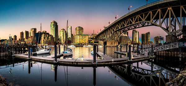 False Creek Panorama