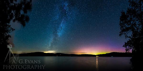 Milky Aurora