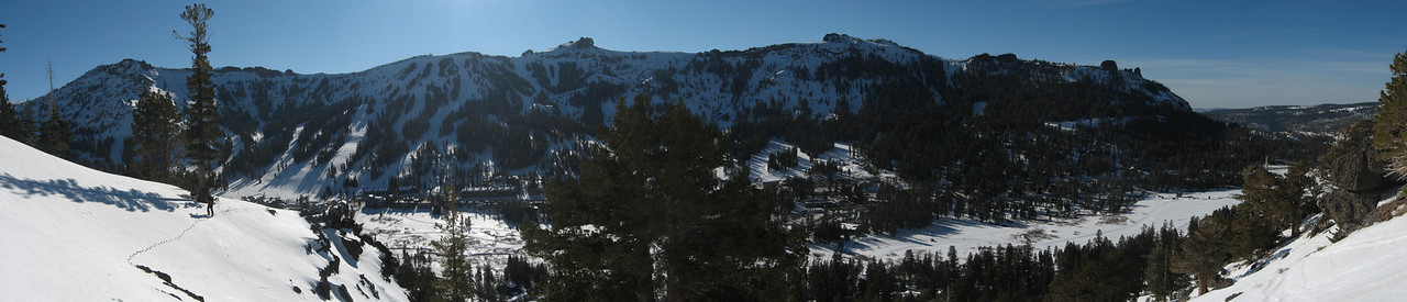 Kirkwood with Nick.  Tour up the Palisades.