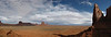 Vastness:  The view from Artist Point in Monument Valley, Utah/Arizona.