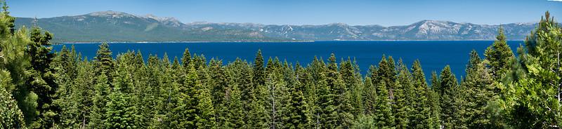 Carnelian Bay on Lake Tahoe Panoramic