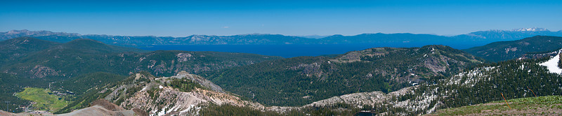 Lake Tahoe from Squaw Valley Peak