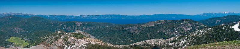 Lake Tahoe from Squaw Valley Peak