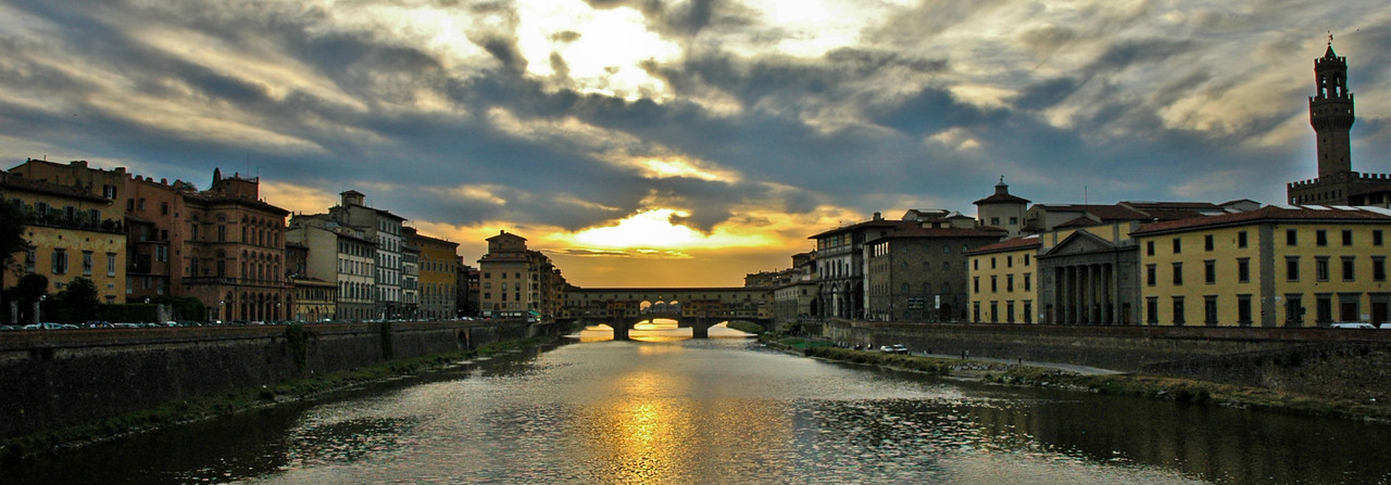 Ponte Vecchio over the Arno River