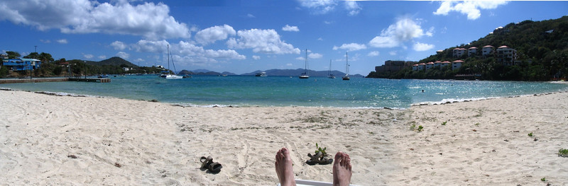 Jefe's beach panoramic