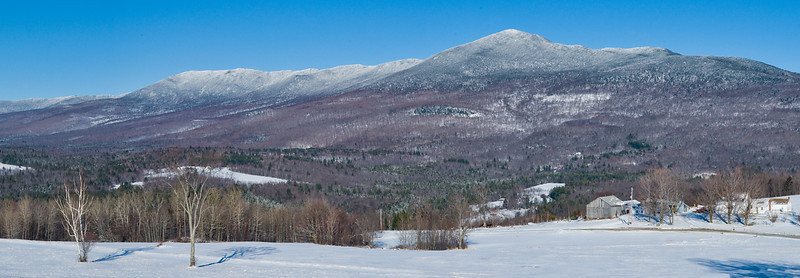 Winter on the Presidential Range