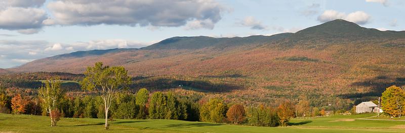 Autumn on the Presidential Range, VT