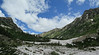 Looking up the North Fork of Cascade Canyon
