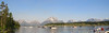 View of the Tetons across Jackson Lake