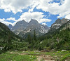 Looking down the North Fork of Cascade Canyon