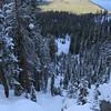 Top of Jakes' peak