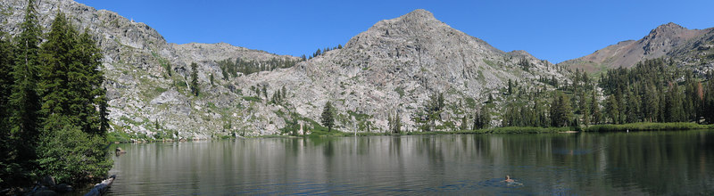 Rob at 4th of July lake?  in Mokelumne Wilderness