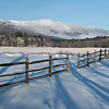 Winter View from Stowe Bike Path