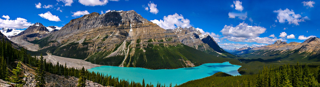 Peyto Lake in the Canadian Rockies.  Photo by Kyle Spradley | www.kspradleyphoto.com