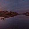 OK Falls Late Autumn Sunset Panoramic