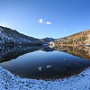 Twin Lakes First Snow Panoramic