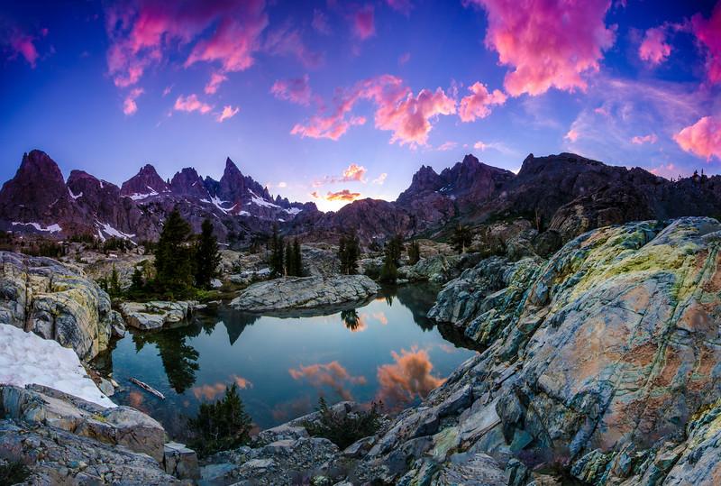 Minaret Lake Sunset