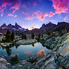 Minaret Lake Sunset