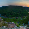 Lee's Bluff Panorama | Mark Twain National Forest - Fredericktown, MO.