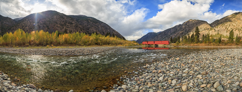 Keremeos Red Bridge Pano V