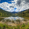 Twin Lakes Summer Panoramic