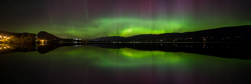 Kickininee Auroral Panoramic Sept 2015