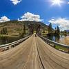 Chopaka Bridge Eastward 8mm Panoramic