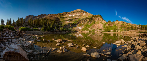 Secret Lake Panorama