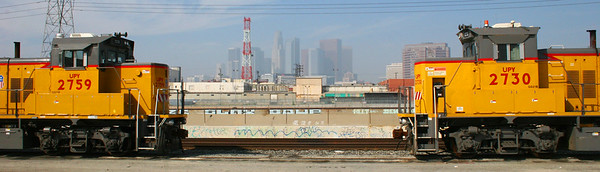 LA Train yards, CA