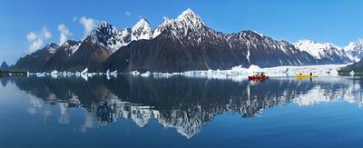 A Glacier's Mirror Image