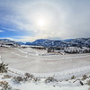 Blue Mountain Vineyards Snowy Panoramic 2017