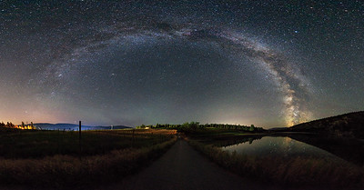 See Ya Later Ranch - Milky Way Arch Panoramic