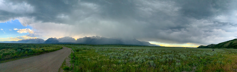Afternoon Storm in Grand Teton National Park