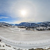Blue Mountain Vineyards and Cellars- Winter Panoramic 2017