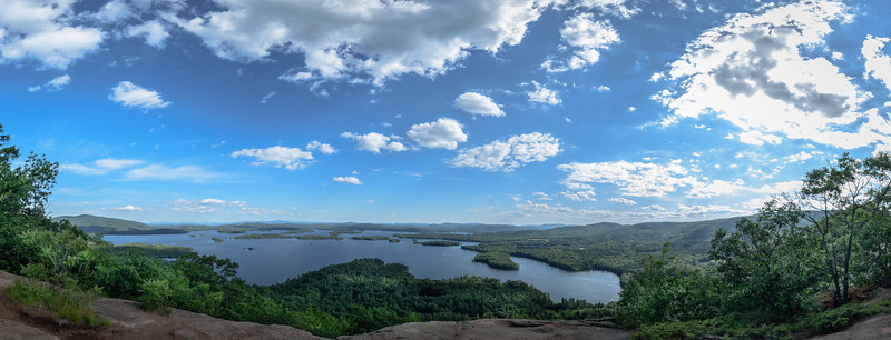 West Rattlesnake Mountain looking over Squam Lake