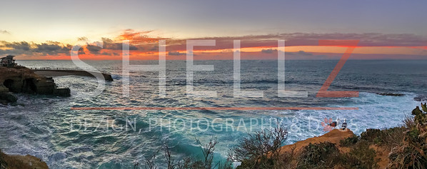 Secrets of a Sunset - Point Mencinger, La Jolla