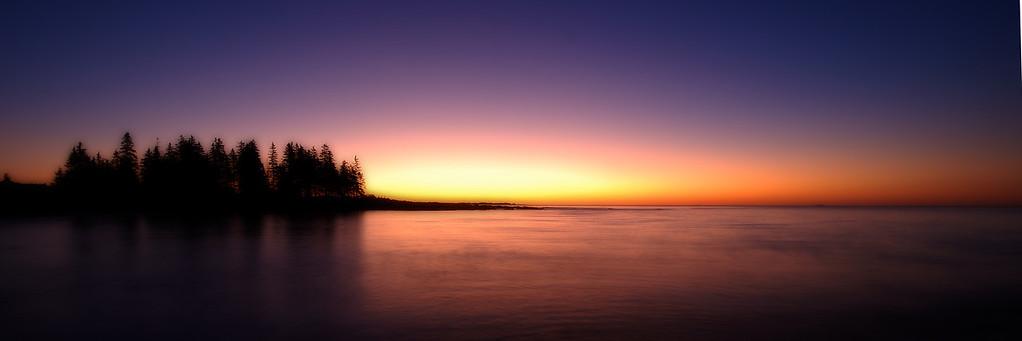 Sunrise on Schoodic Peninsula