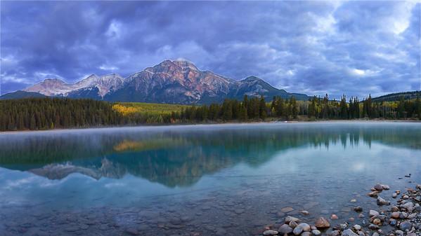 Patricia Lake Sunrise - 2007 Dgrin Shoot Out - Canada