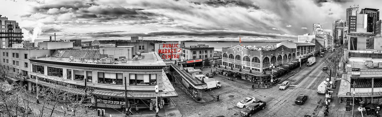 Seattle Pike Place Market and Beyond