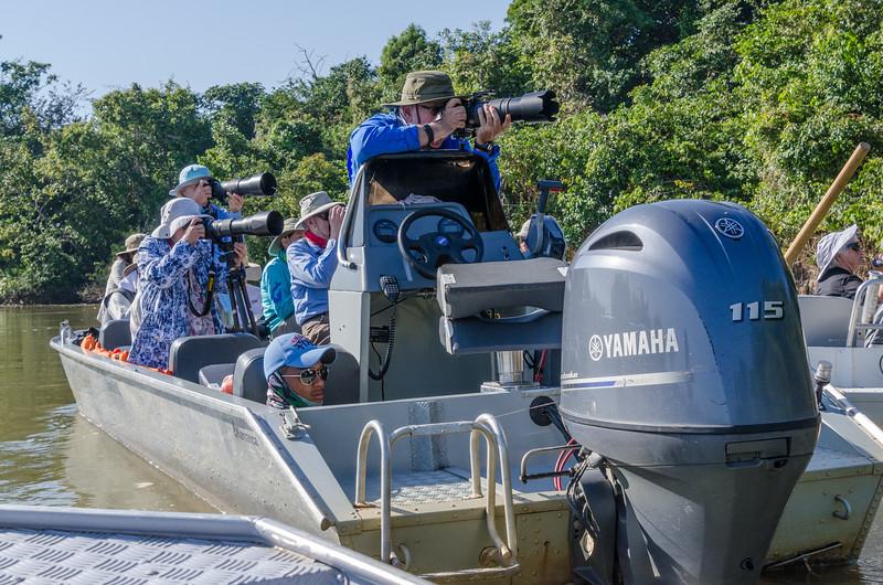 Photographers on Rio Piquiri