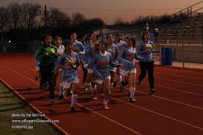 PHS Senior Girls Soccer vs Round Rock Feb 28 2014