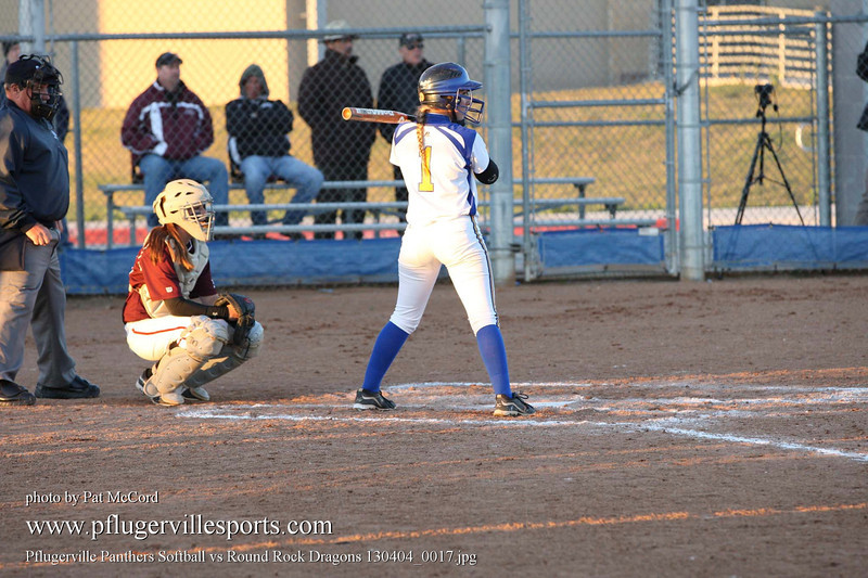Pflugerville Panthers Softball vs Round Rock Dragons 130404_0017