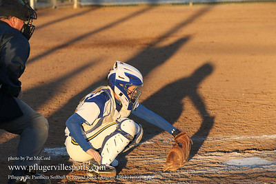 Pflugerville Panthers Softball vs Round Rock Dragons, Apr, 4, 2013