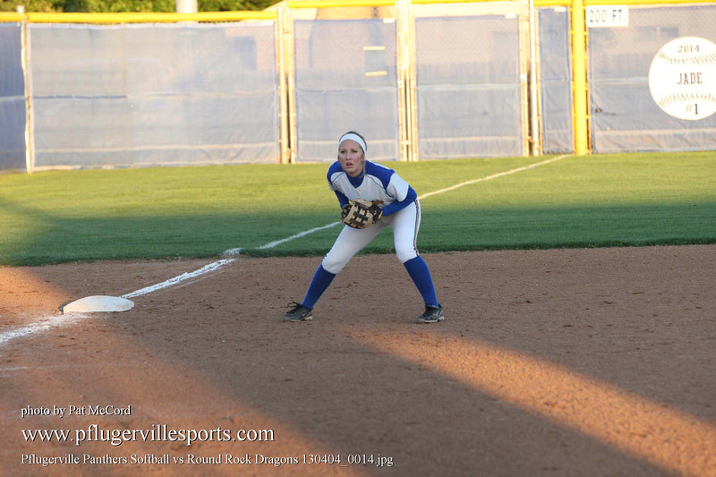 Pflugerville Panthers Softball vs Round Rock Dragons 130404_0014