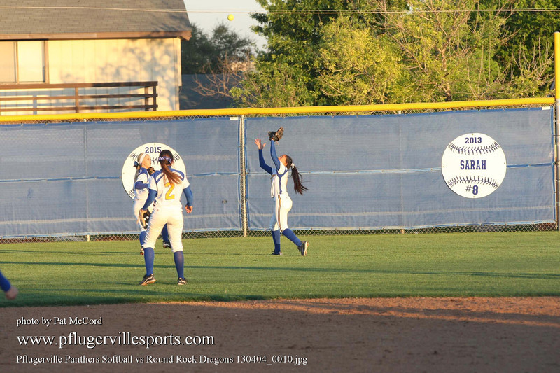 Pflugerville Panthers Softball vs Round Rock Dragons 130404_0010