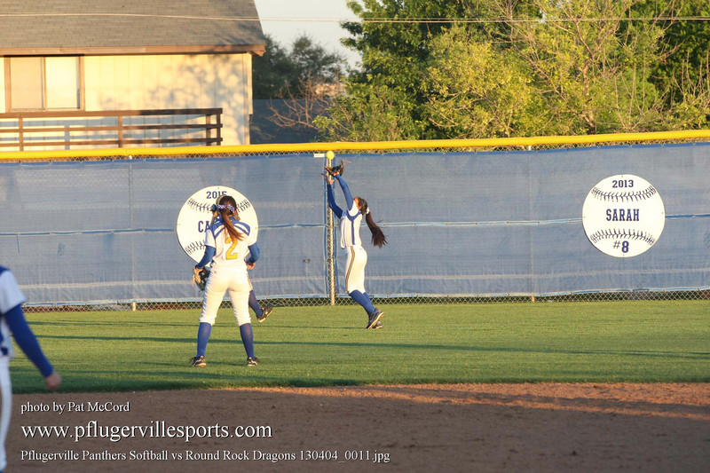 Pflugerville Panthers Softball vs Round Rock Dragons 130404_0011
